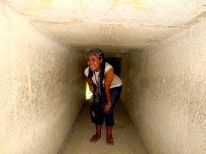 inside the pyramid :)
