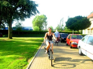 biking in Hengelo