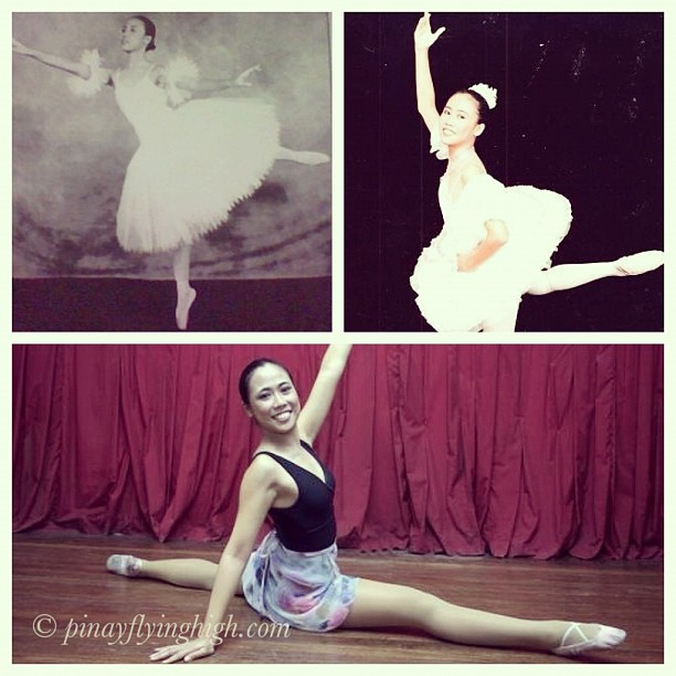 Myself between 15-17 years and the last photo (on split) was taken when I did my ballet teaching stint when I was about 23.