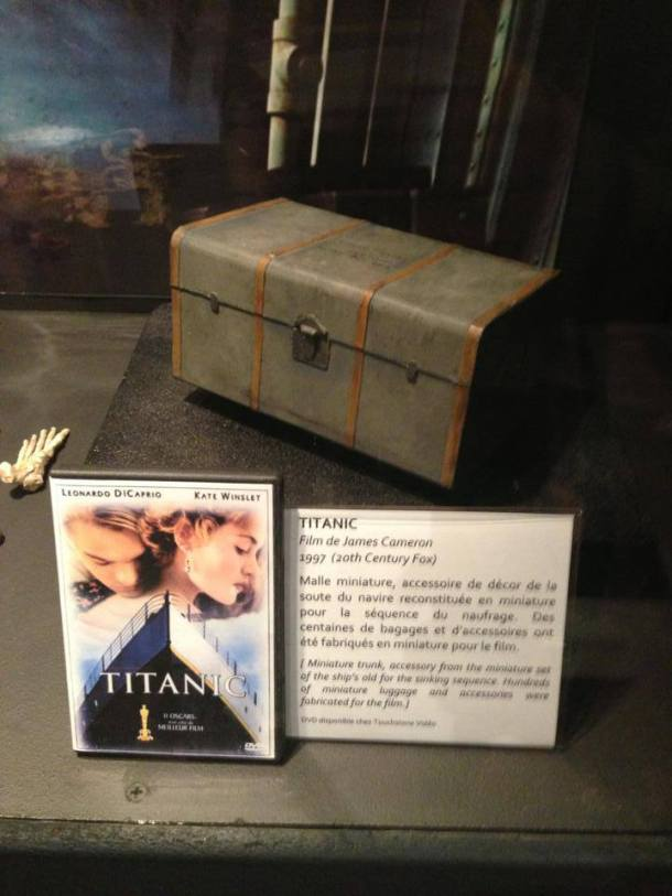 Actual box used in Titanic.