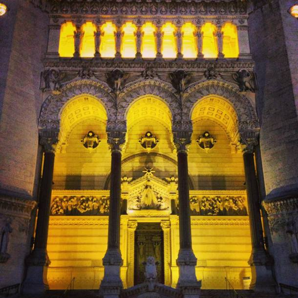 The Basilica of Fourviere, isn't it amazing?