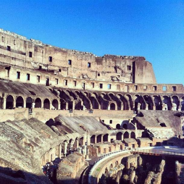 The Colosseum was later endorsed as a sacred site where early Christians had been martyred.