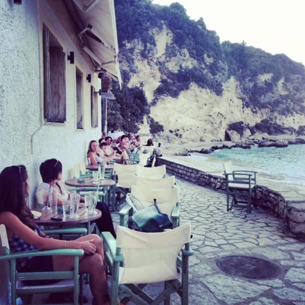 This looks like Little Venice in Mykonos. :)