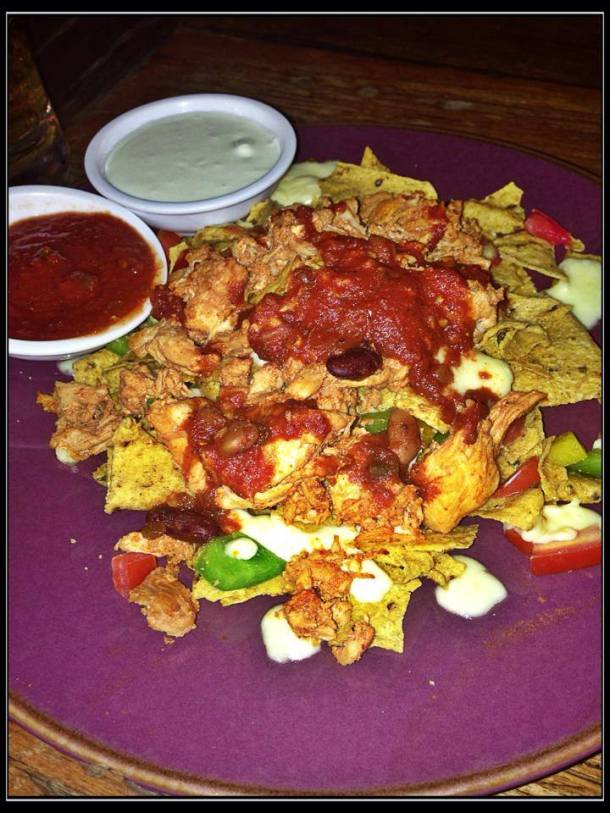 Chicken Nachos at Crazy Gringos