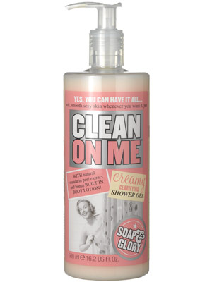 soap-glory-clean-on-me-shower-gel