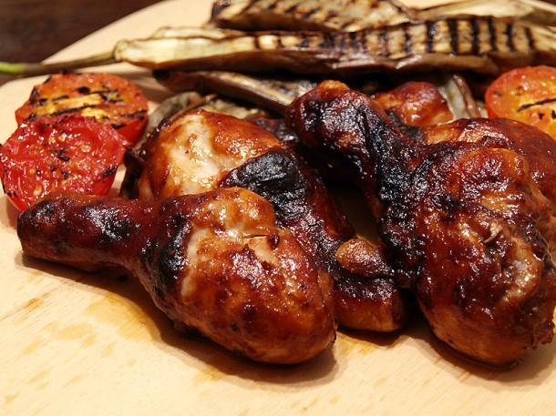 Rosso Amore's Chicken Barbecue - Yum!!!!